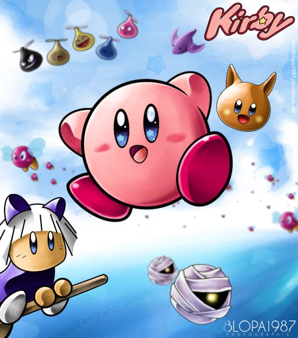 Go Go kirby! by Blopa1987