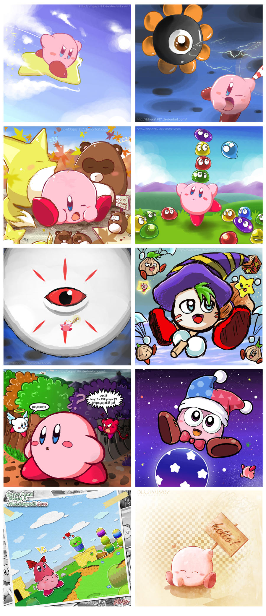 Random Kirby by Blopa1987