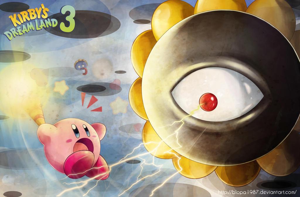 Kirby vs Dark Matter by Blopa1987