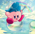 flying on a bubble