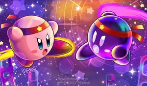 Kirby VS Shadow Kirby