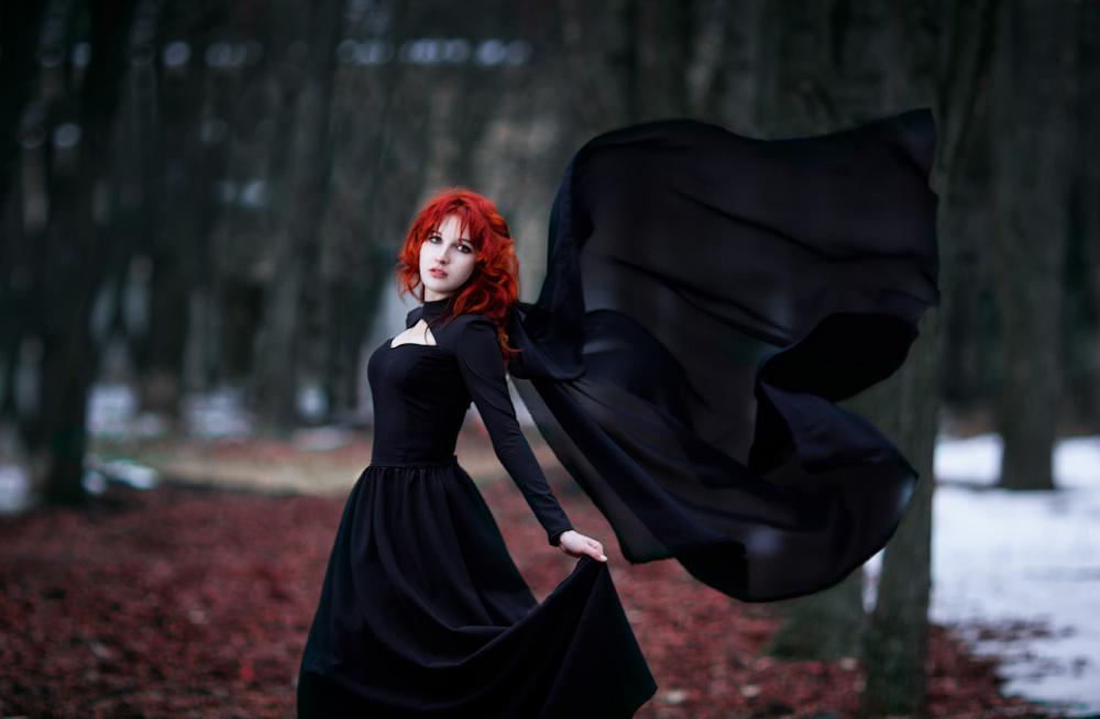 Black wings by Wan-Mei