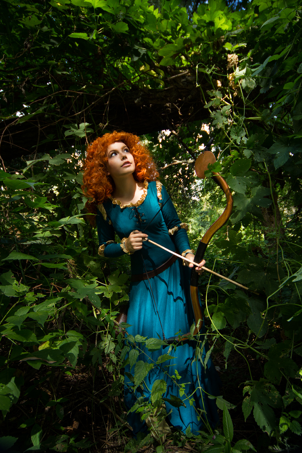 Merida hunting by Wan-Mei