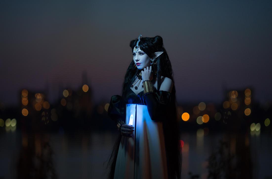 Queen Nehellenia by Wan-Mei