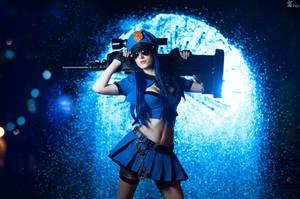 LoL - Officer Caitlyn by Wan-Mei