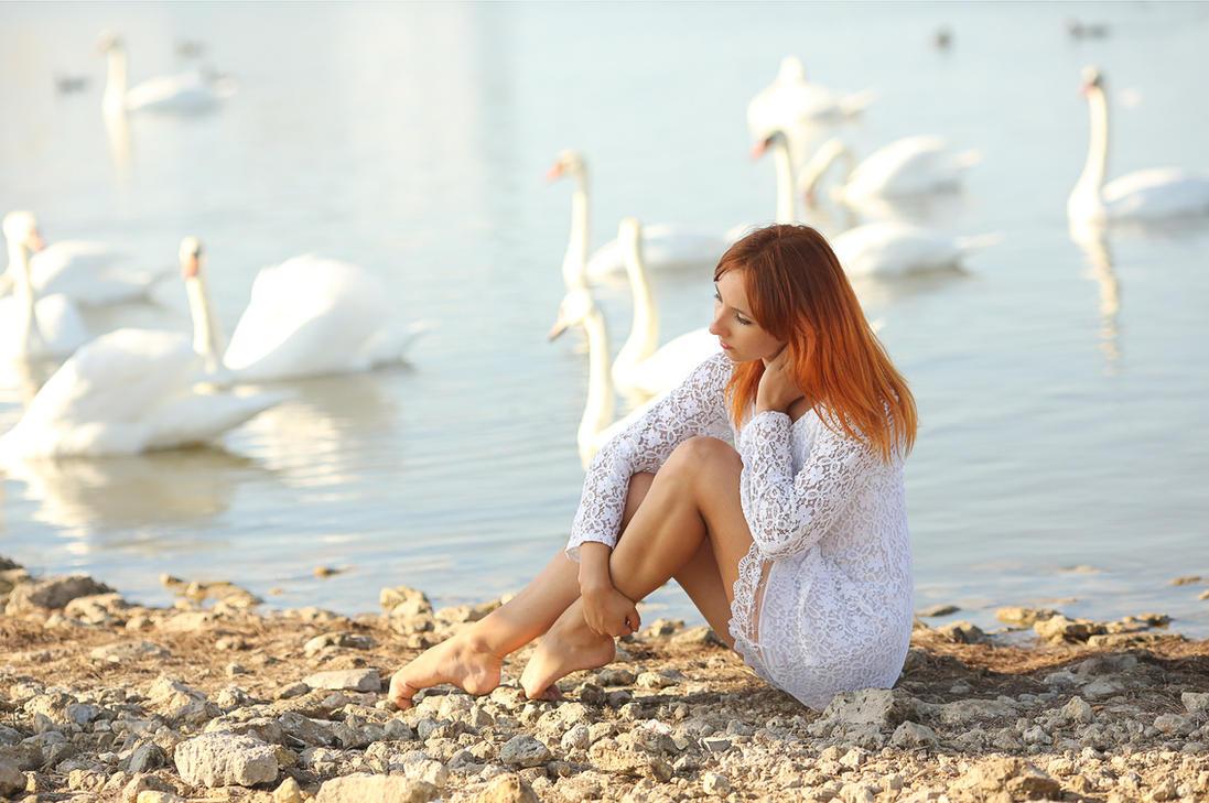 Swan lake by Wan-Mei