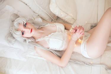 Serenity in underwear
