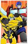 Commission: Bumblebee and Optimus