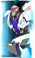 Commission: Smokescreen by justabitscrewy