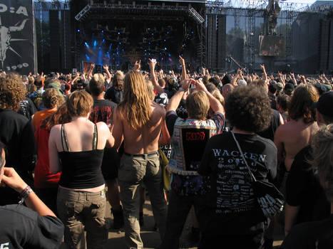 Wacken 2006 crowd