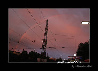 red rainbow by dieZera