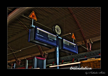 trainstation by dieZera