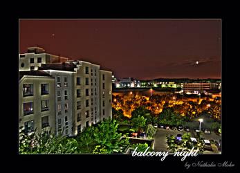 balcony-night by dieZera