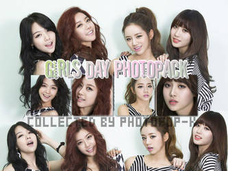 Girls' Day Photopack by PhotoPOP-K