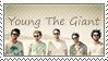 Young The Giant Stamp by feliuskatus