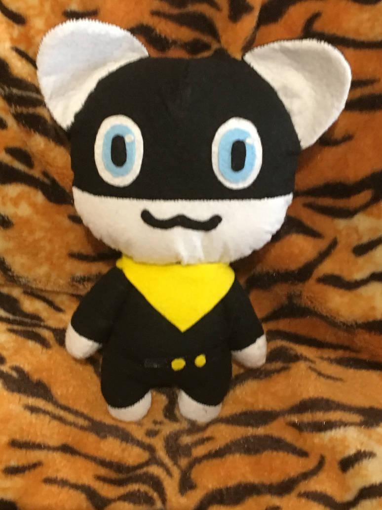 Persona 5 Morgana plushie by Rockyracc00n