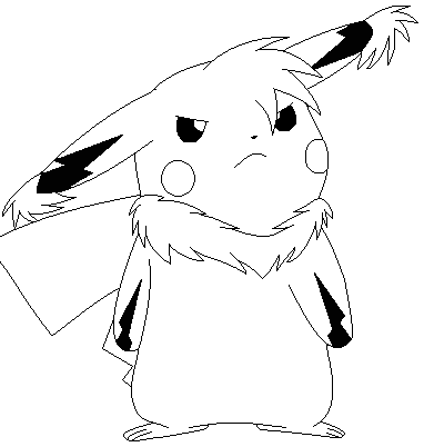 how to draw mega pikachu z