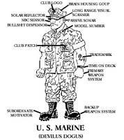 U.S. Marine by Henge