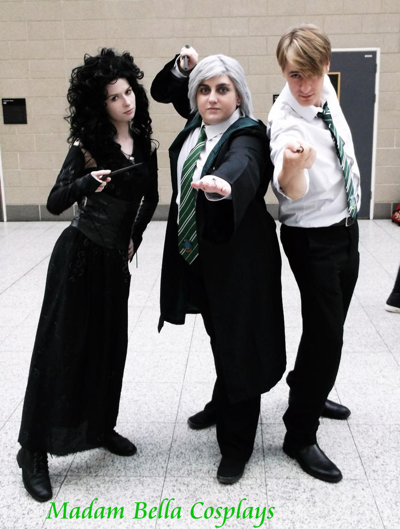 Bellatrix and double Draco!? by MasterCyclonis1