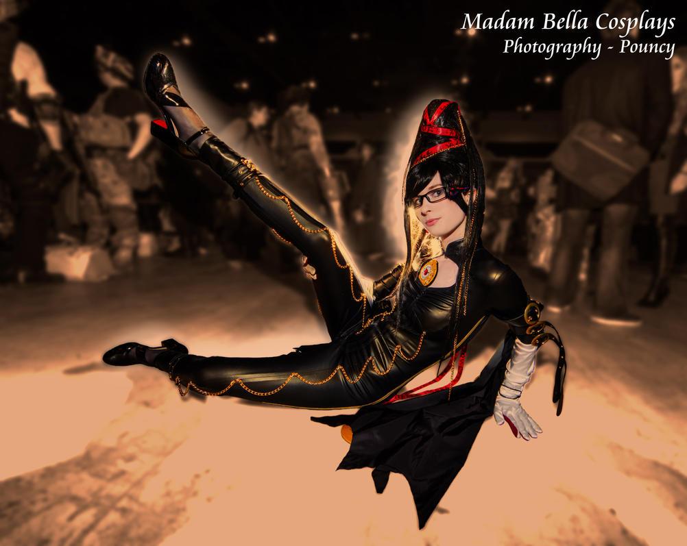 Battle with Joy - Bayonetta by MasterCyclonis1