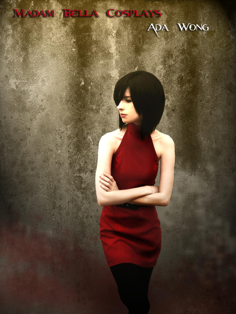 Woman in red by MasterCyclonis1