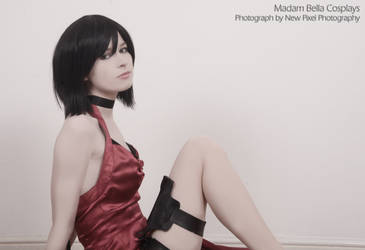 Ada Wong Resident Evil/Biohazard 4 costume by MasterCyclonis1