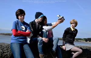 Life is Strange - [Warren, Chloe, Max, Victoria] by MasterCyclonis1