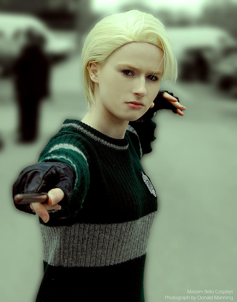Serpensortia! - Quidditch Draco Malfoy Cosplay by MasterCyclonis1