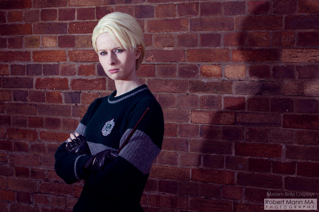 Scared Potter?! - Draco Malfoy Quidditch Cosplay by MasterCyclonis1