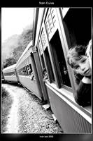 Train Curve BW by ivanlee