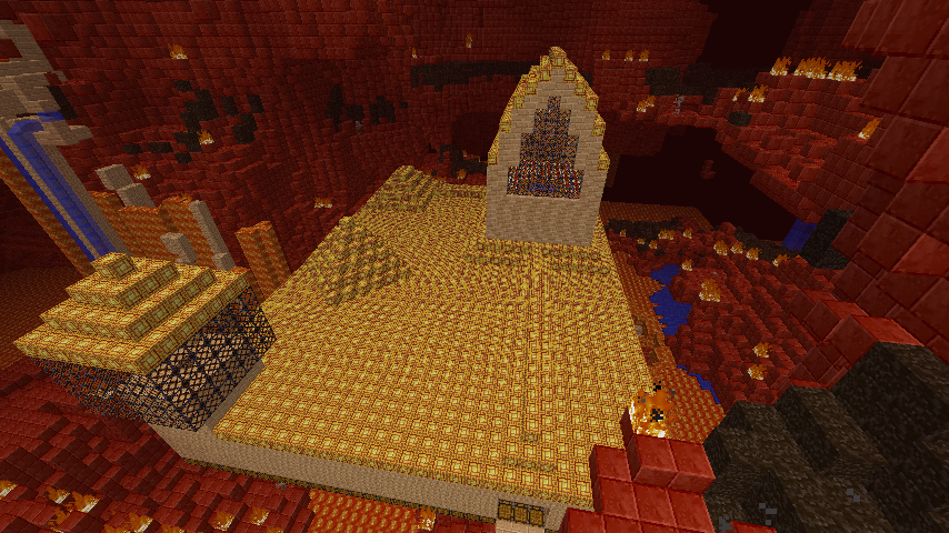 City in the Nether Minecraft Project