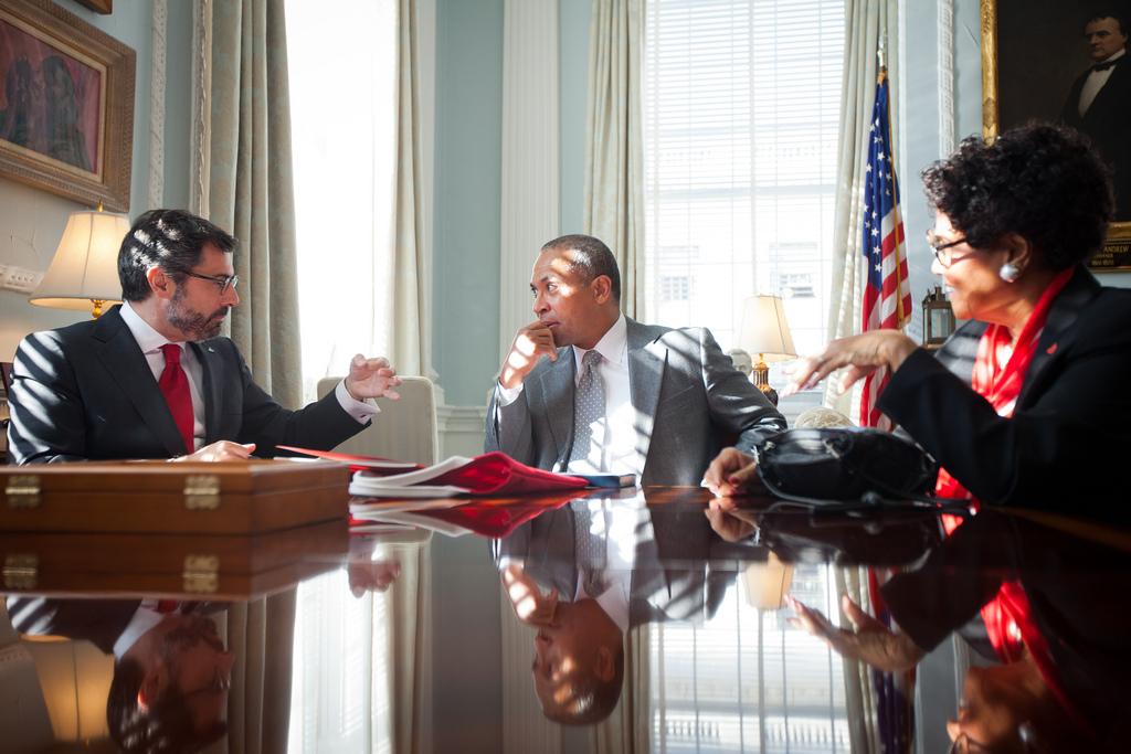 Meeting with Roman Blanco, Head of Santander by iarittzaa