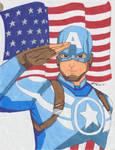 AvAc Captain America - Colored