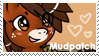 Mudpatch Stamp by raincloudriot