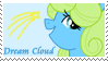 Dream Cloud Stamp by raincloudriot