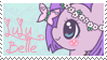 LuLu Belle Stamp by raincloudriot