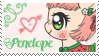 Penelope Stamp by raincloudriot