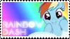Rainbow Dash Stamp by raincloudriot