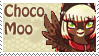 Choco Moo Stamp by raincloudriot