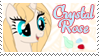 Crystal Rose Stamp by raincloudriot