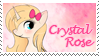 Crystal Rose Stamp 2 by raincloudriot
