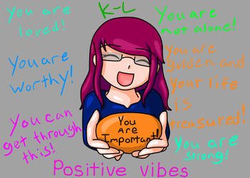 You Are Important by Lynnae-Madison