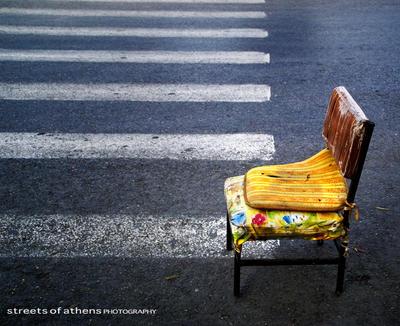 empty roads by streets-of-athens