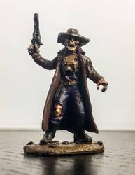 Skeleton Cowboy by devilish-dreams