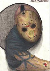 Jason Voorhees by rikinhukuma