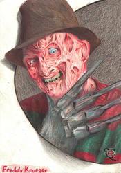 Freddy Krueger by rikinhukuma