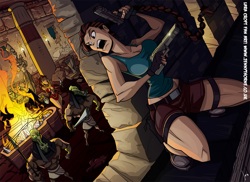 Tombraider Fanart by jennyisdrawing
