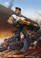 Serious Sam BFE by jennyisdrawing