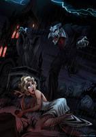 Dracula by jennyisdrawing