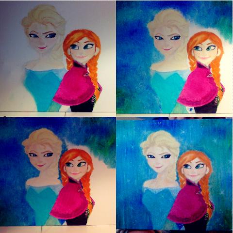 Frozen Anna Elsa (Steps 5-8) by SummerBaby01